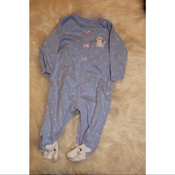 Toddler Girls Periwinkle Polka Dot Unicorn Pajama Sleeper